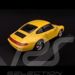 Porsche 911 type 993 1993 yellow 1/43 Minichamps 940063000
