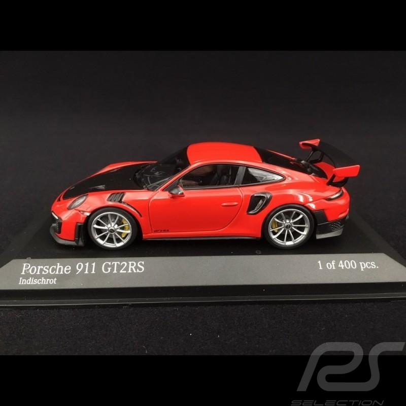 Porsche 911 type 991 phase II GT2 RS 2018 guards red 1/43 Minichamps 410067238