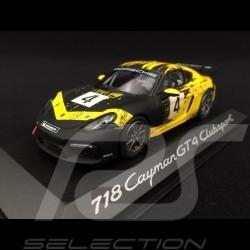 Porsche 718 Cayman GT4 Clubsport 2019 n° 4 Forza Motorsport 7 1/43 Minichamps WAP0204150K