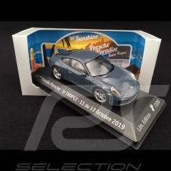 Porsche 911 Carrera type 991 phase II 2015 bleu graphite graphite blue graphit blau 1/43 Herpa WAP0201160G