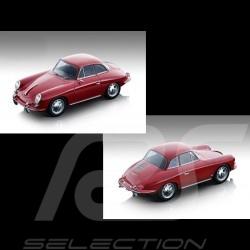 Vorbestellung Porsche 356 Karmann Hardtop 1961 Rot 1/18 Tecnomodel TM18