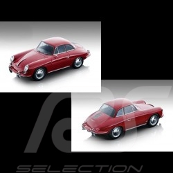 Précommande Porsche 356 Karmann Hardtop 1961 Rouge red rot 1/18 Tecnomodel TM18