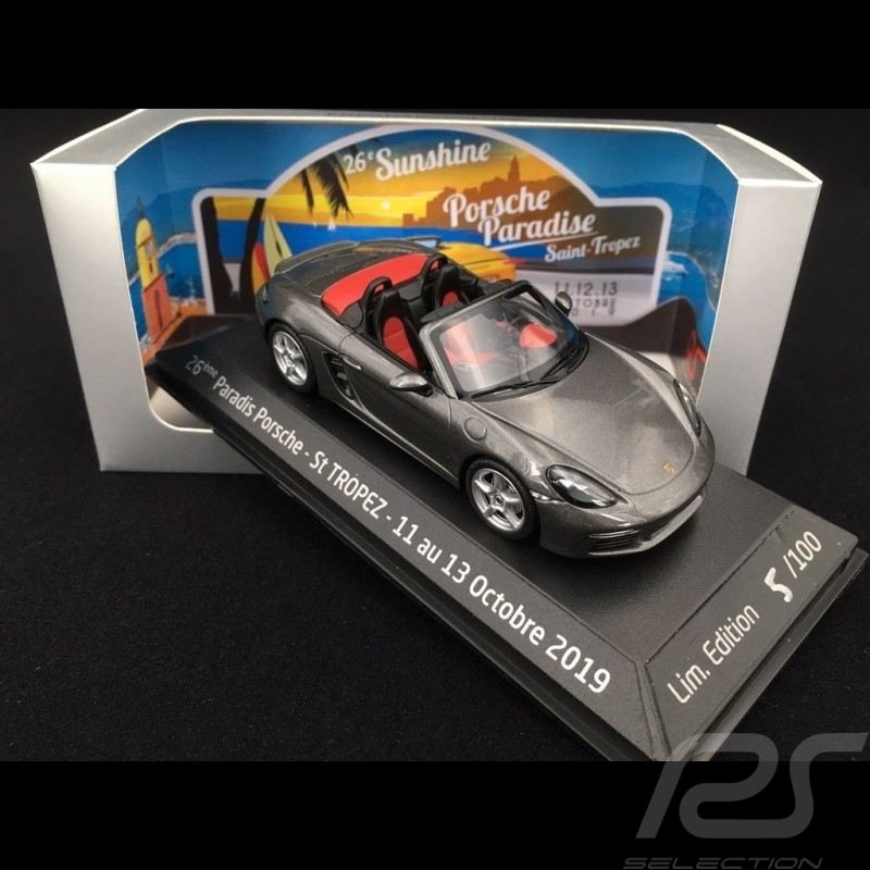 Porsche 718 Boxster grey 1/43 Minichamps WAP0202020G