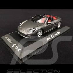 Porsche 718 Boxster grau 1/43 Minichamps WAP0202020G