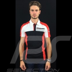 Adidas Polo Porsche Motorsport black / white / red / grey Porsche Design WAX201002 - men