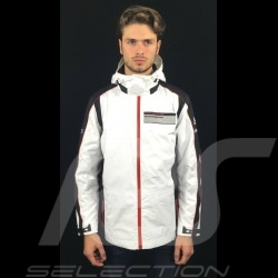Adidas rain jacket Porsche Motorsport Black / White Porsche Design WAX10202 - unisex