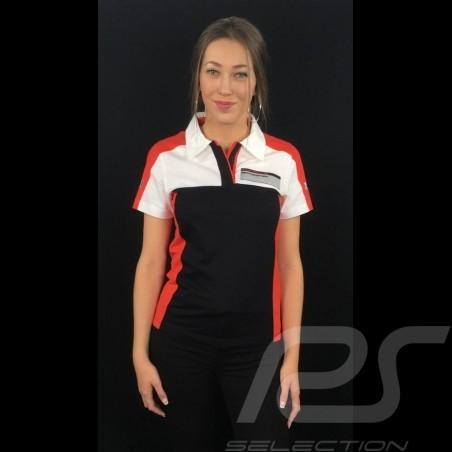 Polo Adidas Porsche Motorsport noir / blanc / rouge / gris Porsche Design WAX301001 - femme