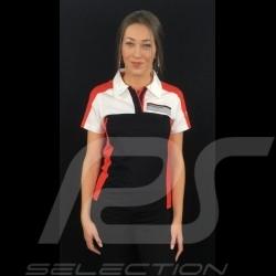 Adidas Polo Porsche Motorsport schwarz / weiß / rot / grau Porsche Design WAX301001 - kinder