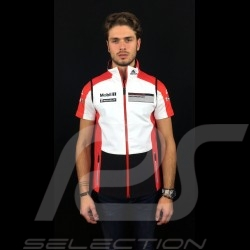 Veste sans manches Adidas Porsche Motorsport Softshell Noir / Blanc / rouge / gris Porsche Design WAX20103 sleeveless jacket arm