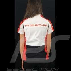 Adidas Softshell sleeveless jacket Porsche Motorsport Black / White / Red / Grey Porsche Design WAX30102 - lady