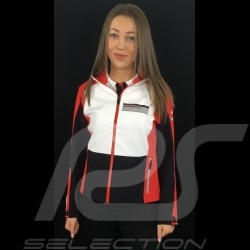 Veste jacket jacke Adidas Porsche Motorsport Softshell Noir / Blanc / rouge / gris Porsche Design WAX30103 - femme