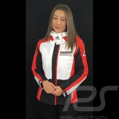 Adidas Jacke Porsche Motorsport Allwetter Schwarz / Weiß / Rot / Grau Porsche Design WAX30104 - Damen