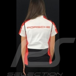 Adidas Softshell sleeveless jacket Porsche Motorsport Black / White / Red / Grey Porsche Design WAX30102 - lady