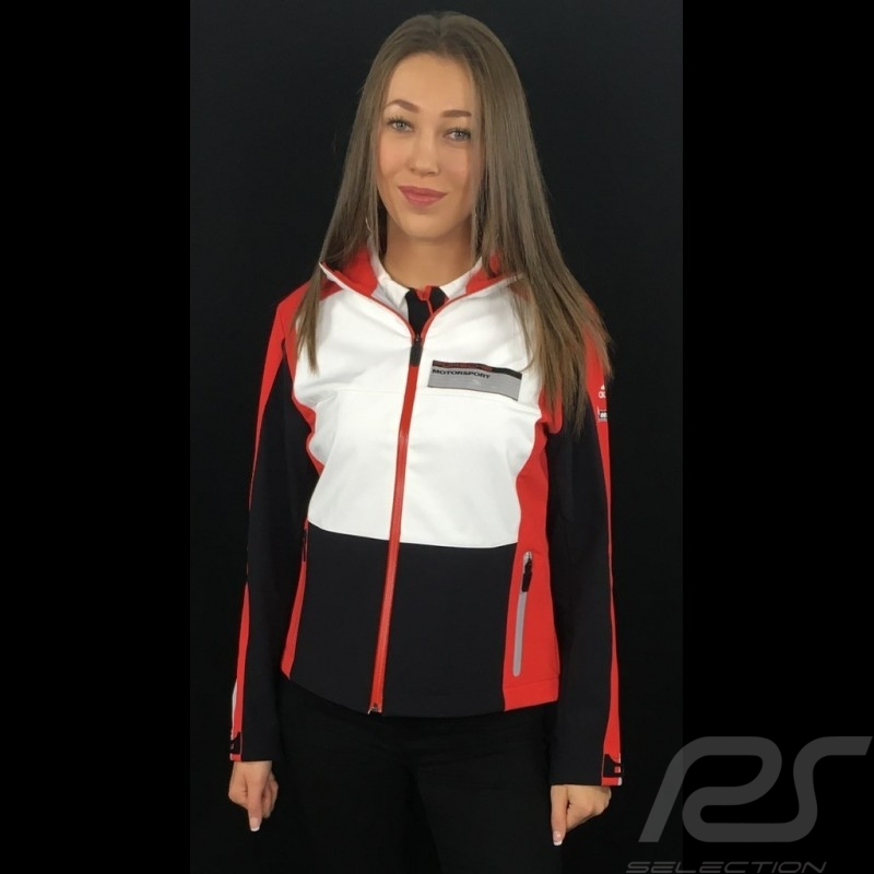 Adidas Softshell jacket Porsche Motorsport Black / White / Red / Grey Porsche Design WAX30103 - kids