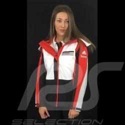 Adidas jacket Porsche Motorsport All Weather Black / White / Red / Grey Porsche Design WAX30104 - kids