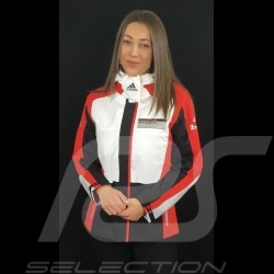 Veste jacket jacke Adidas Porsche Motorsport Tous Temps Noir / Blanc / rouge /gris Porsche Design WAX30104 - enfant