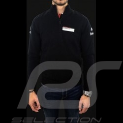 Pull Adidas Porsche Motorsport en maille Coton mélangé Noir Porsche Design WAX10101 enfant children kinder