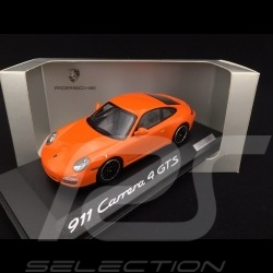 Porsche 997 Carrera 4 GTS Coupé orange 1/43 Minichamps WAP0201140C