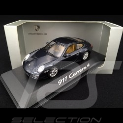 Porsche 911 type 997 Carrera 4 Phase 2 2009 gris 1/43 Minichamps WAP02001518