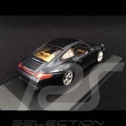 Porsche 911 typ 997 Carrera 4 Mk 2 2009 grau 1/43 Minichamps WAP02001518