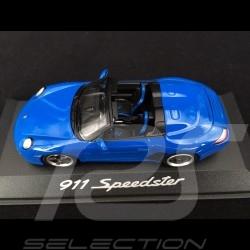 Porsche 911 typ 997 Speedster 2011 blau 1/43 Minichamps WAP0200090B