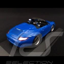 Porsche 911 type 997 Speedster 2011 blue 1/43 Minichamps WAP0200090B