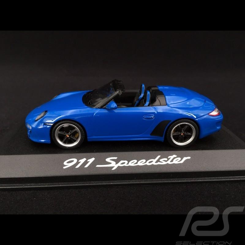 Porsche 911 type 997 Speedster 2011 bleue blue blau  1/43 Minichamps WAP0200090B