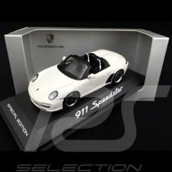 Porsche 911  type 997 Speedster 2010 white 1/43 Minichamps WAP0200290B