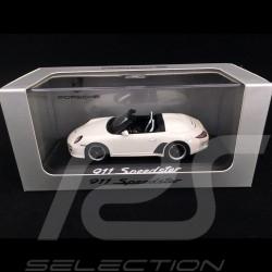 Porsche 911 type 997 Speedster 2010 blanc white weiß 1/43 Minichamps WAP0200290B