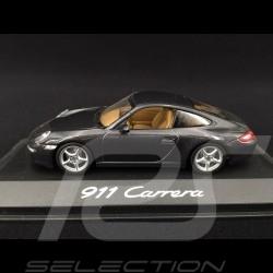 Porsche 997 Carrera Phase 1 2005 gris anthracite 1/43 Minichamps WAP02011515