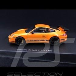 Porsche 911 type 997 GT3 RS 3.6 2007 mk I Orange 1/43 Autoart 57911
