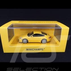 Porsche 997 Carrera 4S Mk 2 2009 yellow 1/43 Minichamps 436066420