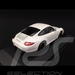 Porsche 997 Carrera GTS Phase 2 2011 blanche 1/43 Minichamps WAP0200200B