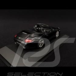 Porsche 911 typ 997 Carrera Cabriolet Mk 2 2011 Black Edition schwarz 1/43 Minichamps 400066434