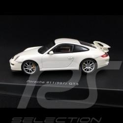 Porsche 911 type 997 GT3 3.6 2006 mk I Weiß 1/43 Autoart 57908