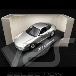 Porsche 911 Carrera type 997 Phase 1 2005 gris 1/43 Minichamps WAP02011415