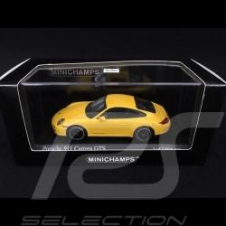Porsche 997 Carrera GTS Mk 2 2011 yellow 1/43 Minichamps 410060120