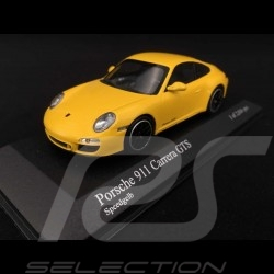 Porsche 997 Carrera GTS Phase 2 2011 jaune 1/43 Minichamps 410060120