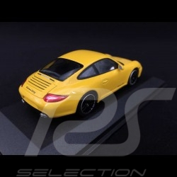 Porsche 997 Carrera GTS Mk 2 2011 gelb 1/43 Minichamps 410060120