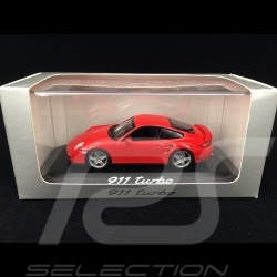 Porsche 997 Turbo 3.6 mk 1 2007 Guards red 1/43 Minichamps WAP02013116