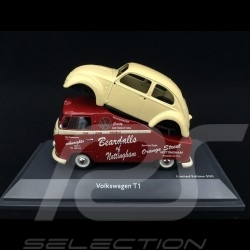 VW Combi T1 Beardalls of Nottingham avec carrosserie Coccinelle 1/43 Schuco 450907800