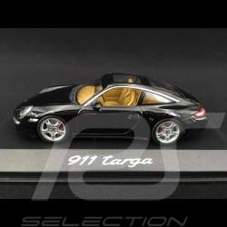 Porsche 911 type 997 Targa schwarz 1/43 Minichamps WAP02016017