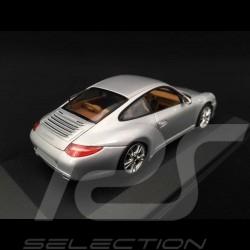 Porsche 911 type 997 Carrera Mk II 2009 silbergrau 1/43 Minichamps WAP02001218