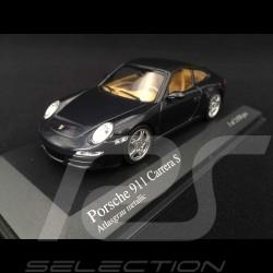 Porsche 997 Carrera S 2004 gris 1/43 Minichamps 400063021