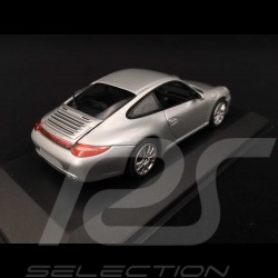 Porsche 997 Carrera 4S ph II 2009 silber 1/43 Minichamps 400066421
