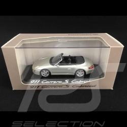 Porsche 997 Carrera S Cabriolet gris 1/43 Minichamps WAP02015115
