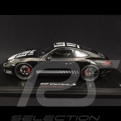 Porsche 991 Carrera S Endurance Racing Edition noire 1/18 Spark WAX02100017