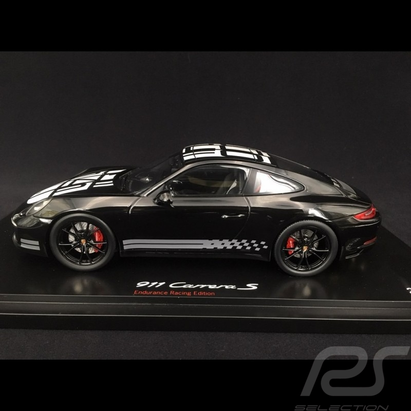 carrera s endurance racing 2016 White 991 1:18 Spark Porsche 911