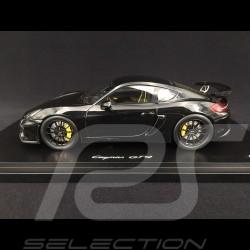 Porsche Cayman GT4 2016 schwarz 1/18 Spark WAX02100022