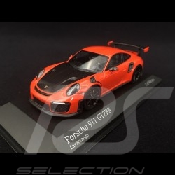 Porsche 911 type 991 GT2 RS phase II 2018 lava orange 1/43 Minichamps 410067239